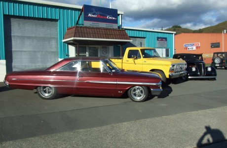 Kiwi Race Cars - Red Muscle Car