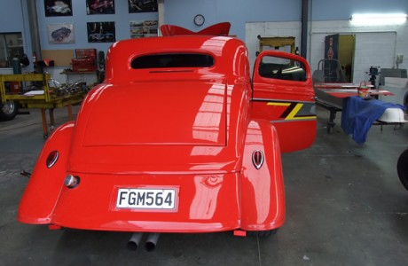 Kiwi Race Cars - Red Hot Rod